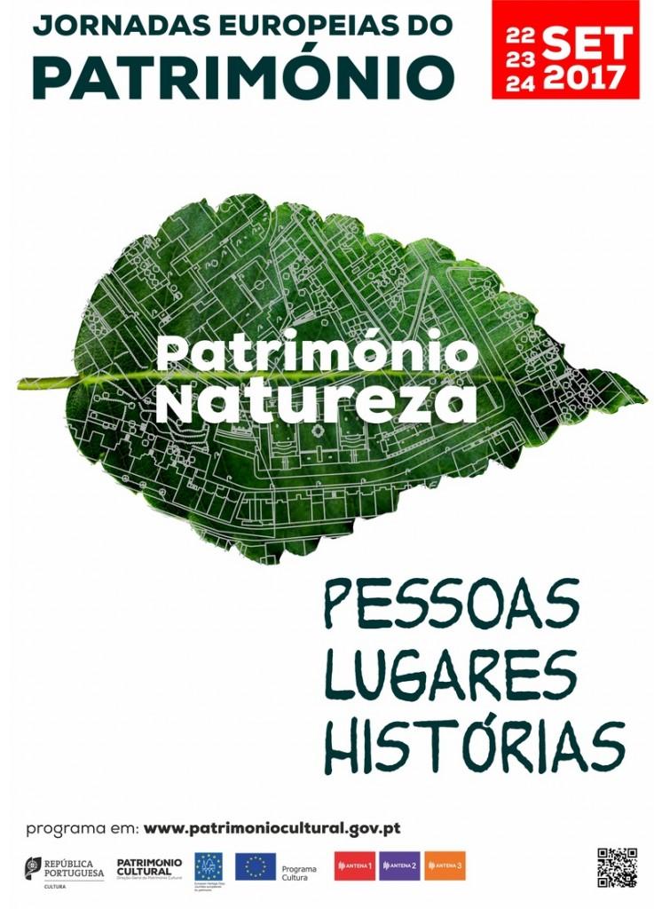 Cartaz das Jornadas em Portugal