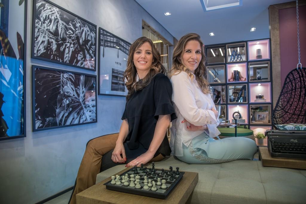 O staff lounge foi concebido por Greice Souza e Patrícia Andrade (Foto Martinho Caires)