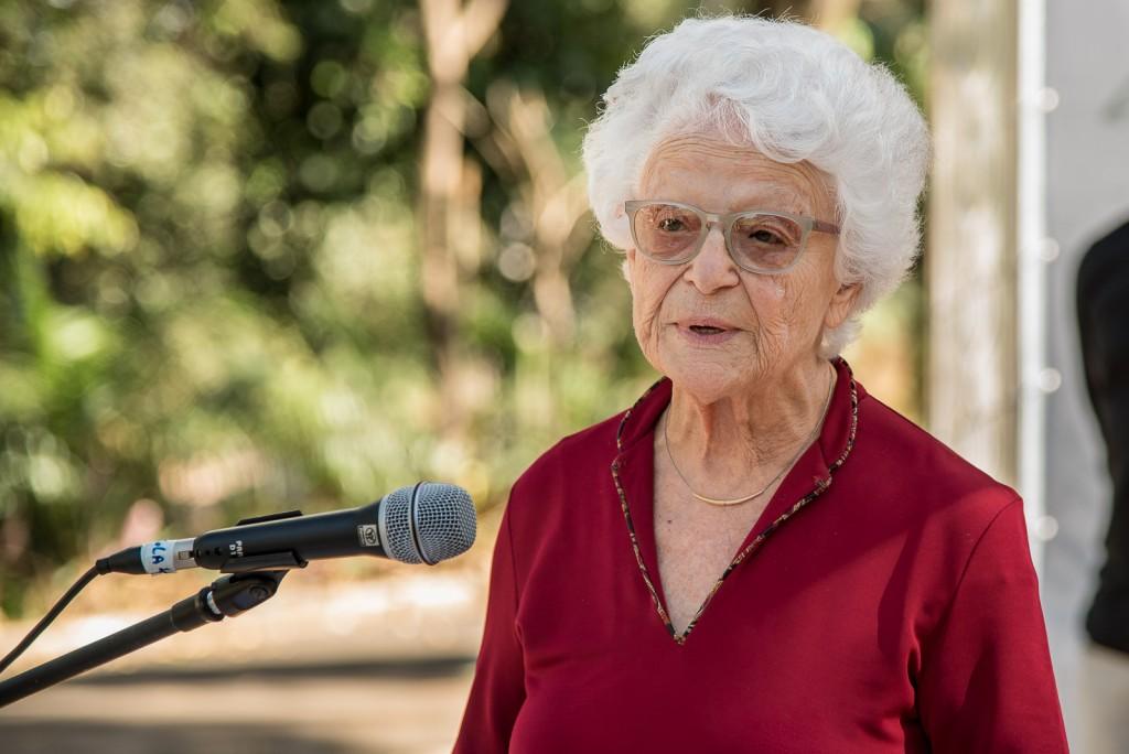 Nora Rónai, homenageada da Mostra:  uma visão de esperança (Foto Martinho Caires)