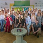 Grupo de profissionais responsáveis pela primeira edição da Mostra Mais Sustentável (Foto Martinho Caires)