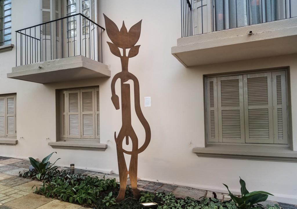 Florânima, a outra obra de Cruzeiro na Mostra: arte ampliando noção de sustentabilidade (Foto Martinho Caires)