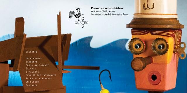 Editora Quatro Cantos divulga livros e compartilha ideias na Feira SUB