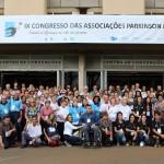 Participantes do Congresso Nacional de Parkinson em Campinas (Foto Roncon & Graça Comunicações)