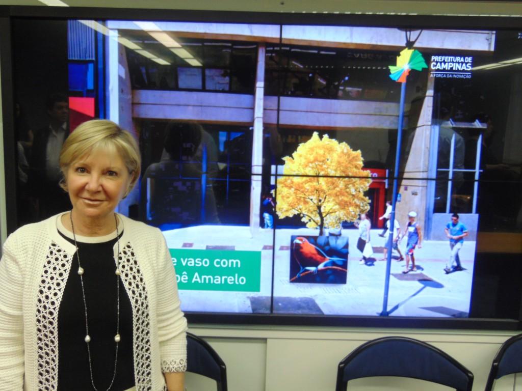 Maria Rita Amoroso, autora do projeto de remodelação da Glicério: agora, a ocupação, com arte e cidadania (Foto José Pedro Martins)