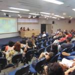 Editoras do livro comentam o conteúdo da obra (Foto José Pedro Martins)