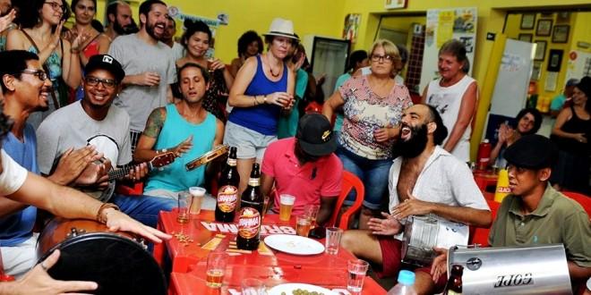 Samba no Maneco completa cinco anos neste sábado: o prazer da música e do encontro