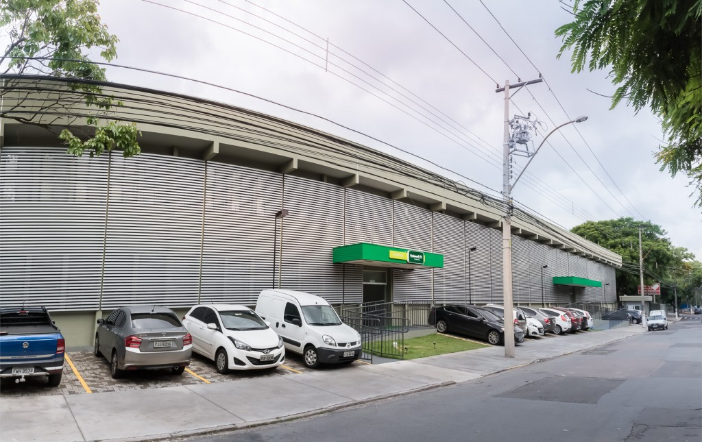 Hospital da Unimed Campinas, instalado em um espaço histórico (Foto  Martinho Caires)