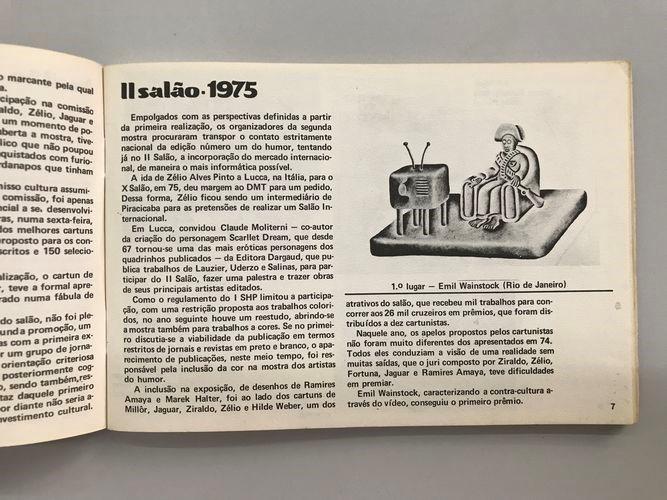 Página sobre a segunda edição, com a menção à viagem de Zélio