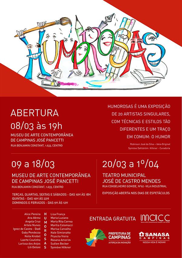 Cartaz da exposição histórica no MACC