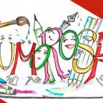 Logotipo da exposição Humorosas