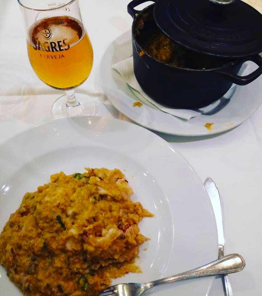 Açorda como prato principal (Foto Graziella Delicato/Divulgação)
