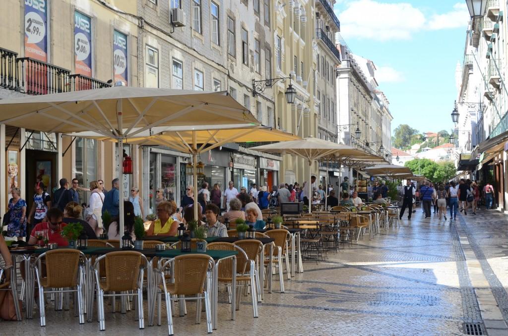 Rua Augusta: em Lisboa, moderno e tradição convivem em harmonia (Foto Divulgação)