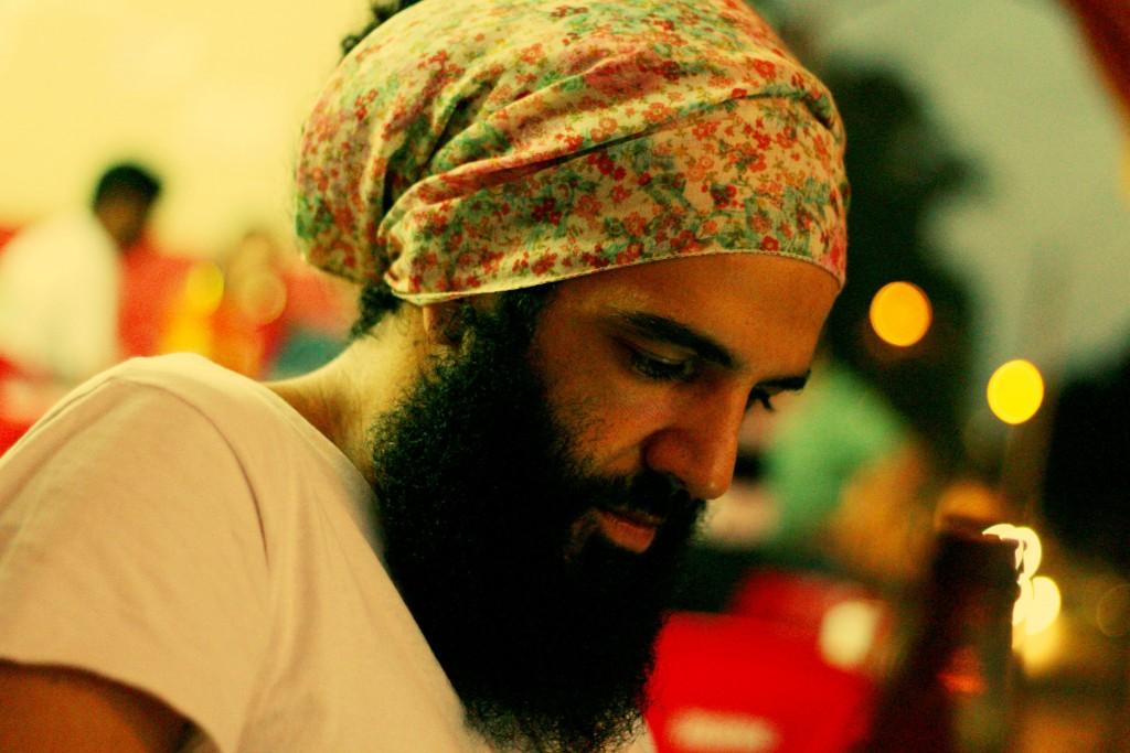 Rafa Carvalho: poeta e agitador cultural (Foto Marina Barbim)