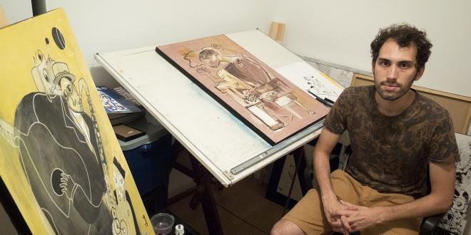 A pintura que conversa com a música na arte de Vicente Magalhães, na Galeria Virtual ASN