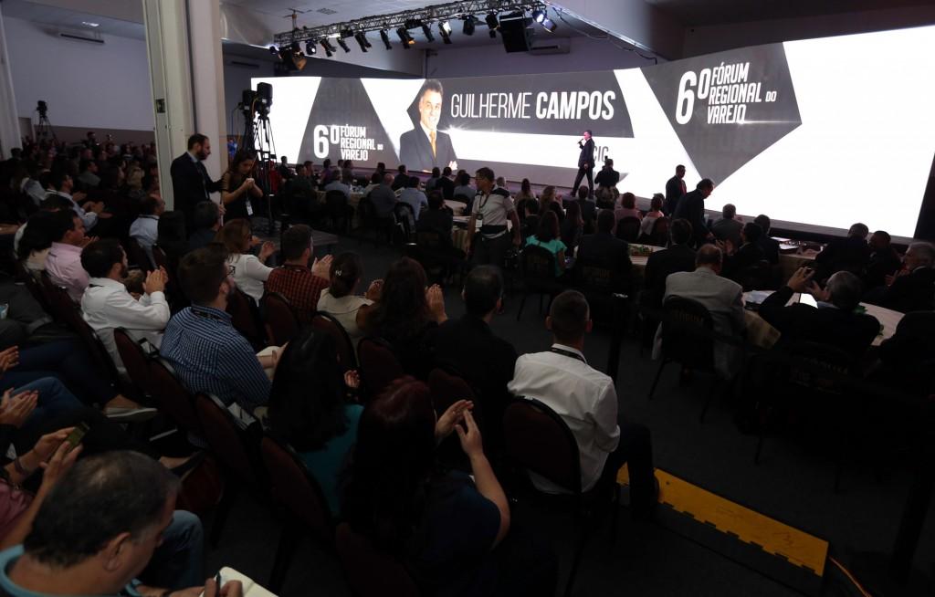 Guilherme Campos: Fórum extrapola dimensões locais e regionais (Foto Adriano Rosa)