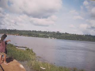 Rio Xingu, em Altamira (PA): na Amazônia o combate à malária é permanente (Foto José Pedro S.Martins)