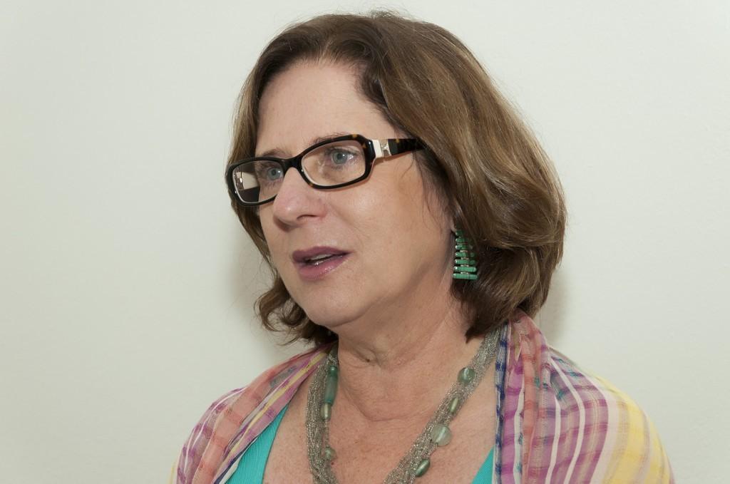 Jane Valente é referência nacional e internacional em serviços de acolhimento familiar (Foto Martinho Caires)