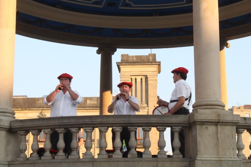 A música é uma das marcas culturais do País Basco (Foto Eduardo Gregori)