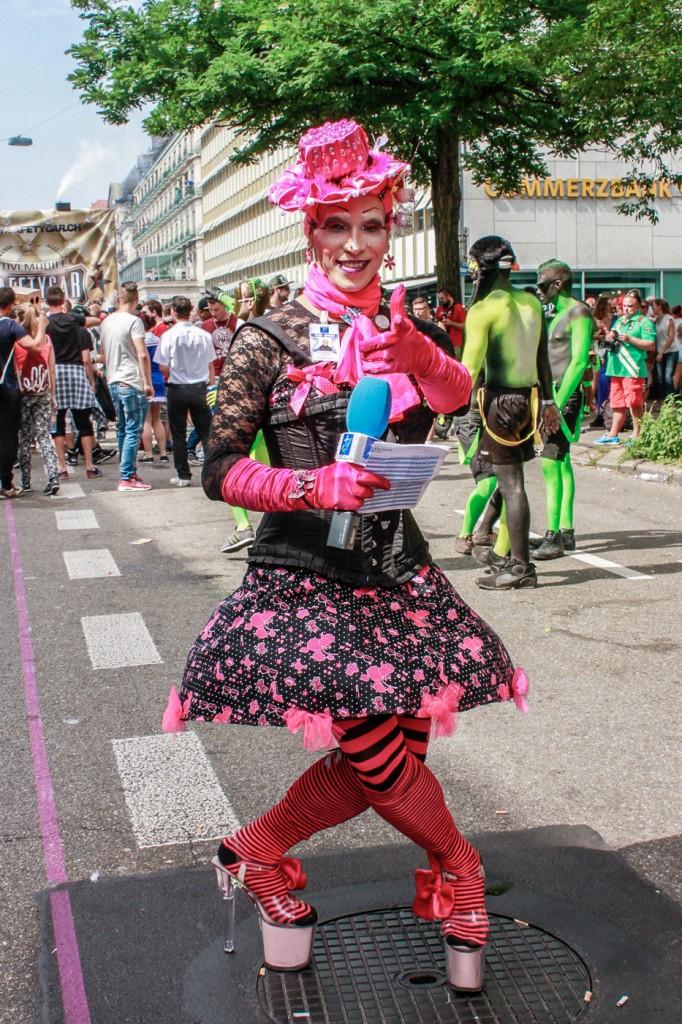Street Parade, Zurique - Photo by Sandra Godoy