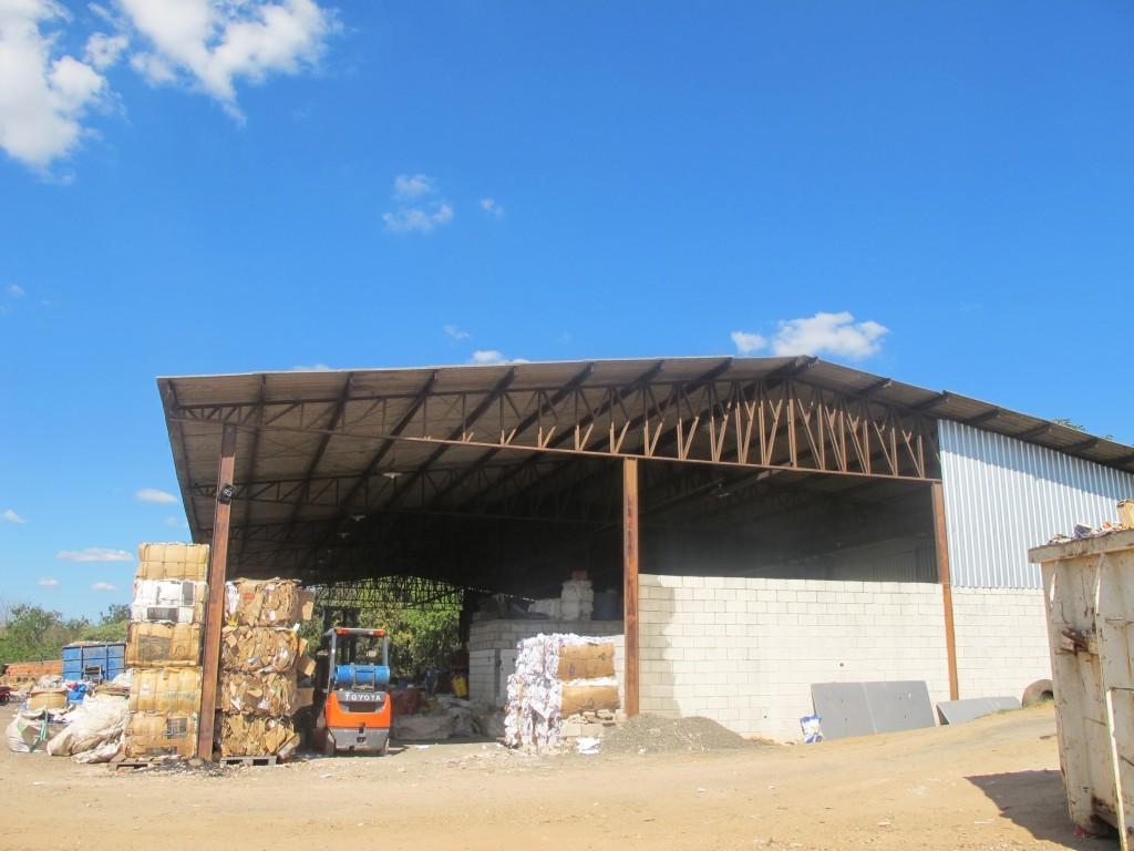 Cooperativa Antonio da Costa Santos, durante o processo de reestruturação (Foto José Pedro S.Martins)
