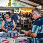 Biblioteca no Fliaraxá do ano passado: em 2018, mais atrações no Festival em Minas Gerais (Foto Franklin Caldeira/Divulgação)