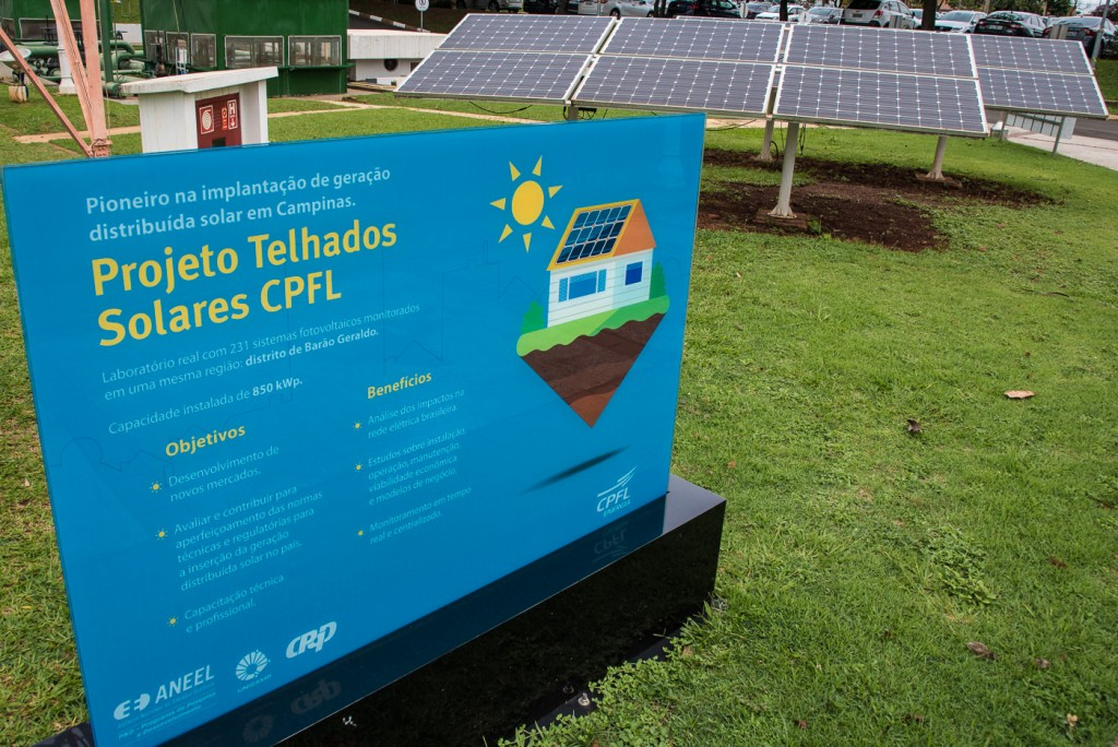 Projeto Telhados Solares CPFL: símbolo da contribuição do setor empresarial brasileiro para os ODS (Foto Martinho Caires)
