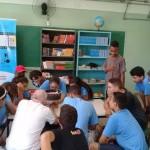 """Alunos de Campinas durante as oficinas do projeto """"Curtas de Animação"""" que, em março, passaram também por Hortolândia e Cotia. (Foto Divulgação)"""