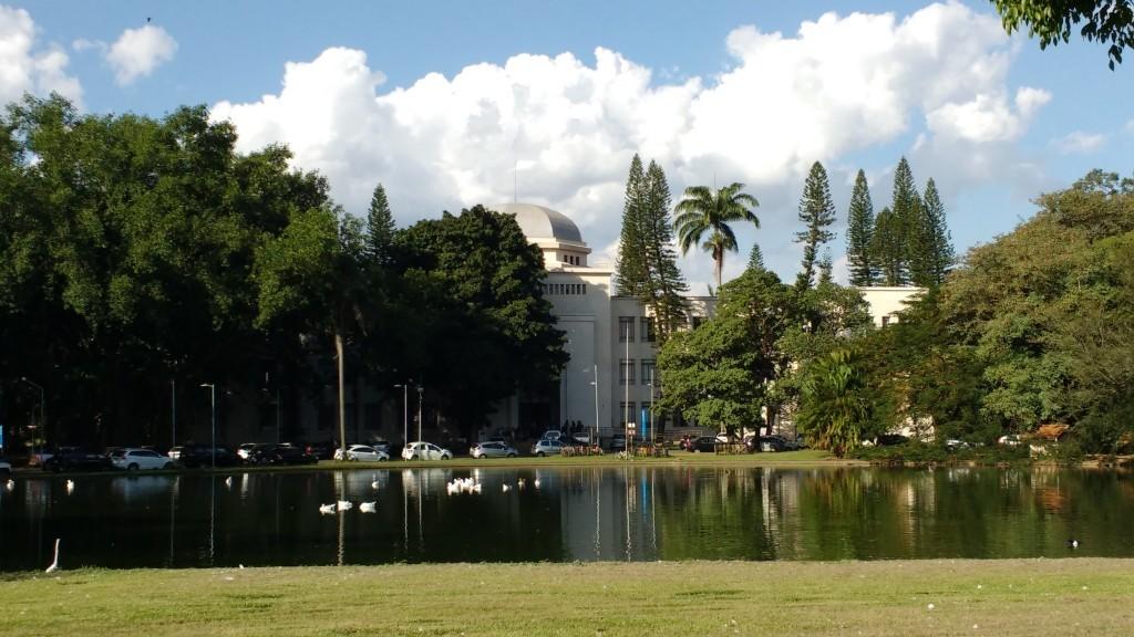 Campus da Esalq, em Piracicaba: parcerias pelo desenvolvimento sustentável (Foto José Pedro Soares Martins)