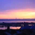 """""""Daqui da margem sul, Lisboa pode ser tão longe, ou tão perto"""" (Foto Eduardo Gregori)"""