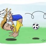 Os cabelos de Neymar