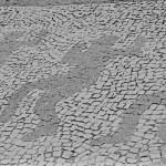 Calçada onde aconteceu a chacina da Candelária, no centro do Rio de Janeiro