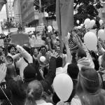Várias reivindicações em confluência em junho de 2013 (Foto Martinho Caires)