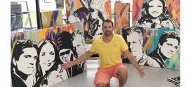 A arte pop de Ricardo Muñoz na Galeria ASN e em exposição em Indaiatuba