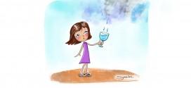 Água, por Synnöve Hilkner