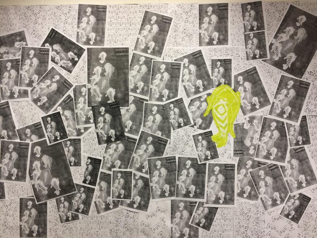 Arte Xerox no Instituto de Artes da Unicamp (Foto DIvulgação)