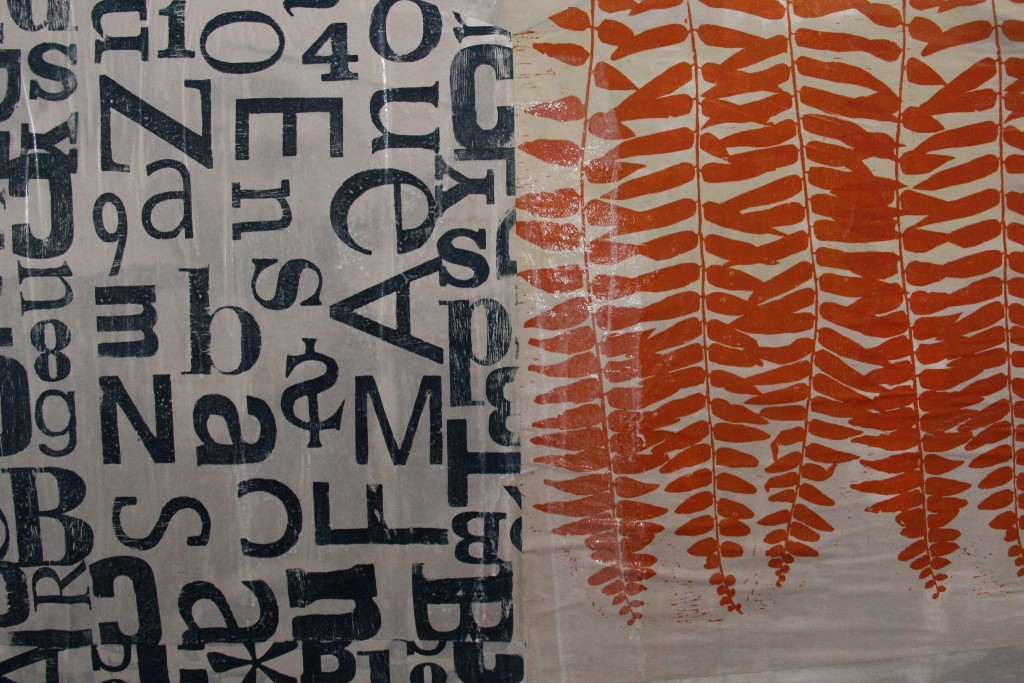 Projeto Largofolhas é do Xilomóvel Ateliê Itinerante (Foto Isabel Magnani)