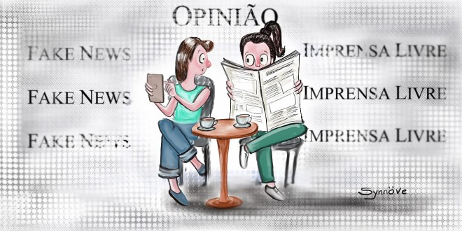 Fake news e liberdade de imprensa, por Synnöve Hilkner