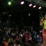 A cantora Ilcéi Miriam, uma das organizadoras da feira cultural Afro Mix também se apresenta  neste domingo (11/11)