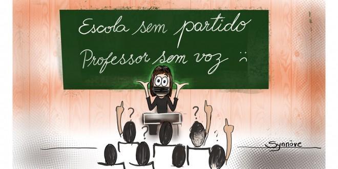 Escola sem partido! Professor sem Voz! Por Synnöve Hilkner