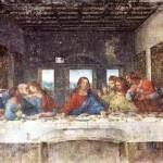 """A Última Ceia"", pintura de Leonardo Da Vinci"