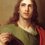 """""""São João e a Águia"""", pintura de Vladimir Borovikovsky"""