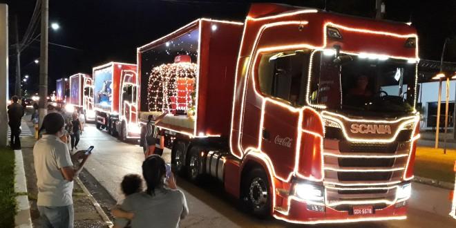 Caravana Iluminada de Natal chega a Campinas nesta terça-feira