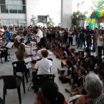 Presença das crianças foi destaque na apresentação do PIC (Foto José Pedro S.Martins)