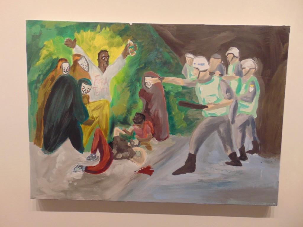 """""""Goya não imaginava que todo dia seria um Três de Maio diferente"""", de Matheus Souza (Foto José Pedro S.Martins)"""
