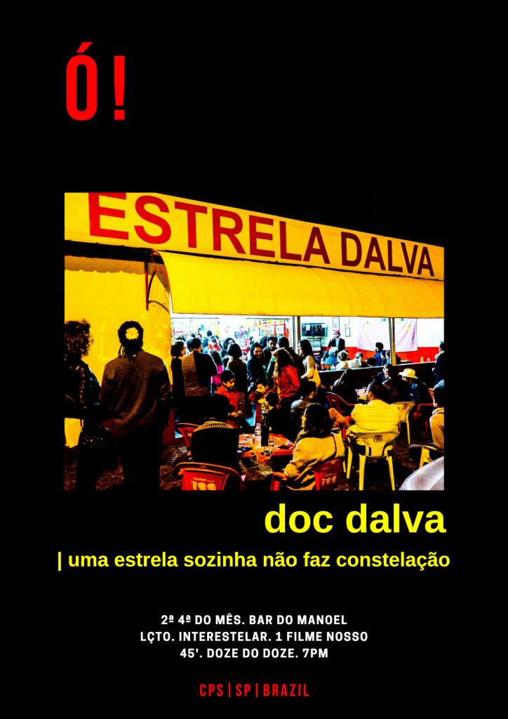 2- Cartaz de Lançamento do Documentário / arte: Rafa Carvalho (Divulgação)
