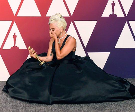"""Lady Gaga ganho um Oscar e """"monstrinhos"""" vibraram (Foto  Divulgação/The Academy)"""
