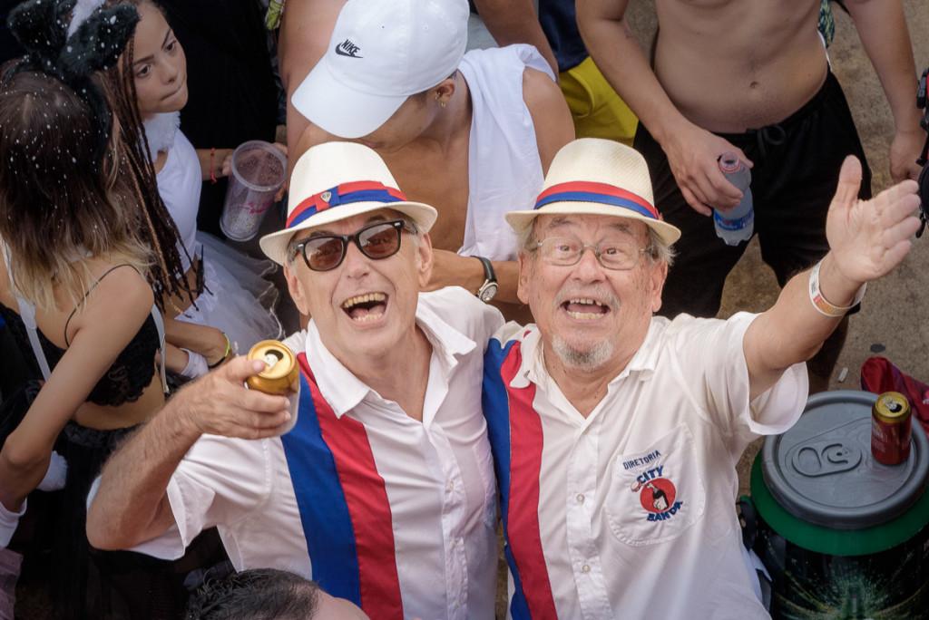 Paulo Lima e José de Oliveira: superando muitos obstáculos para colocar a City Banda na rua (Foto Martinho Caires)