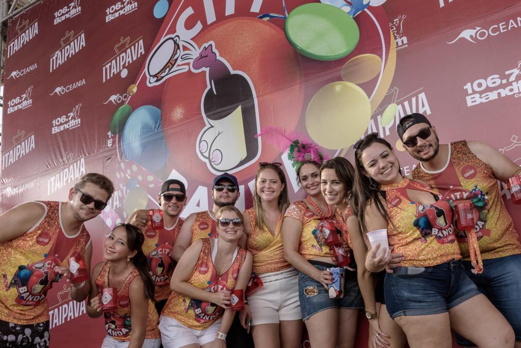 Foliões de Campinas e de toda a região animaram o desfile (Foto Martinho Caires)