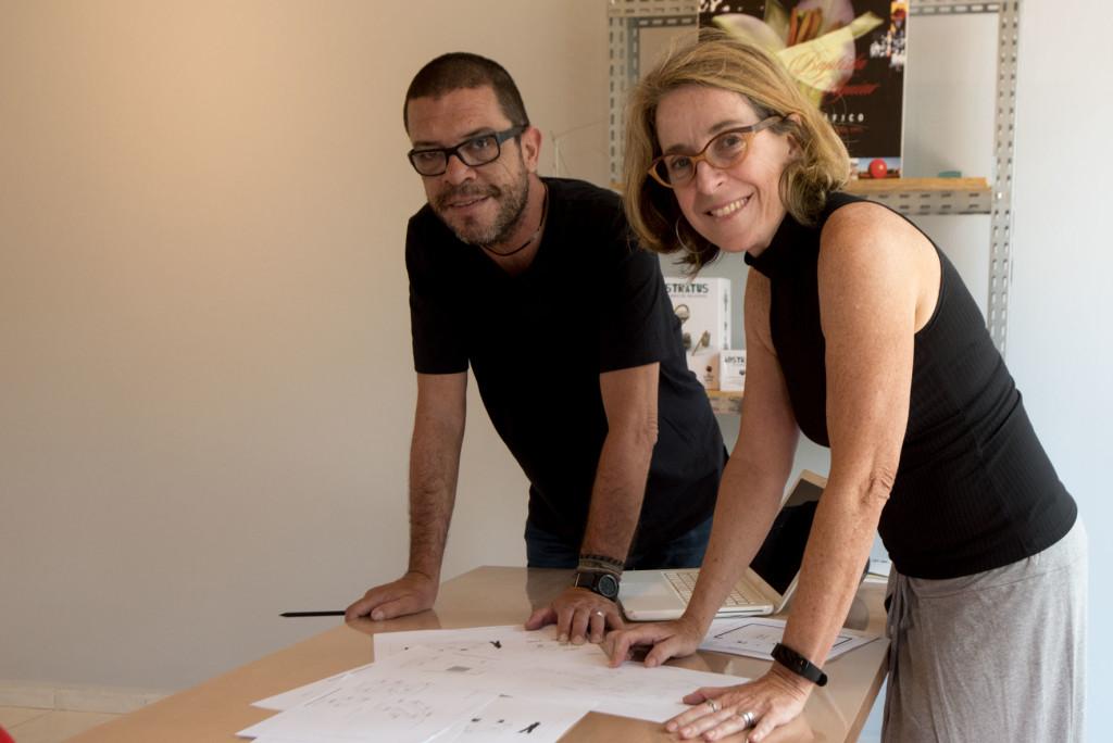 Arquitetos Mario Braga e Teresa Mas, criadores do Instituto (Foto Ivan Moretti/ Divulgação)