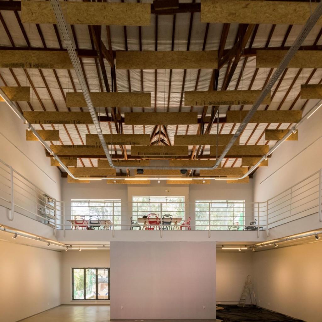 Área interna do mais novo espaço cultural de Campinas, no fervilhante Barão Geraldo (Foto Ivan Moretti/Divulgação)